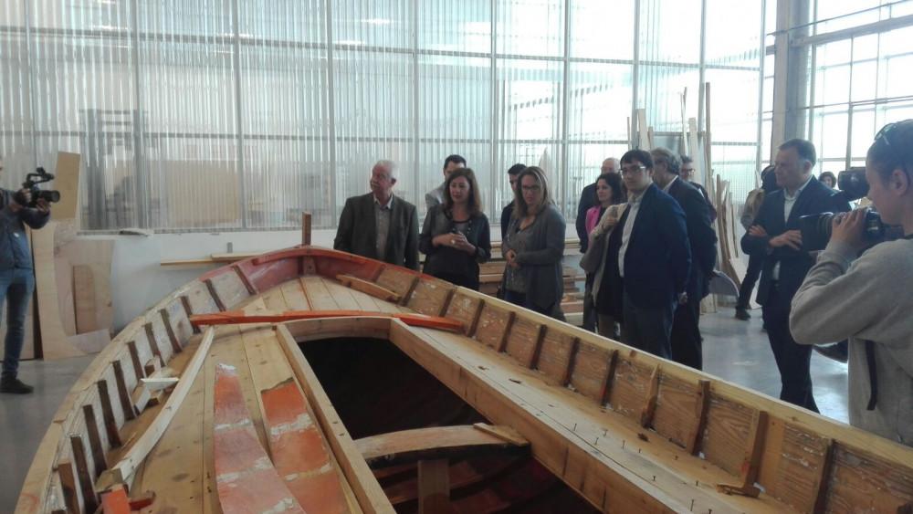 La presidenta del Govern ha hecho su anuncio durante la visita que ha realizado a las instalaciones esta mañana. Fotos: Jordi Ribera