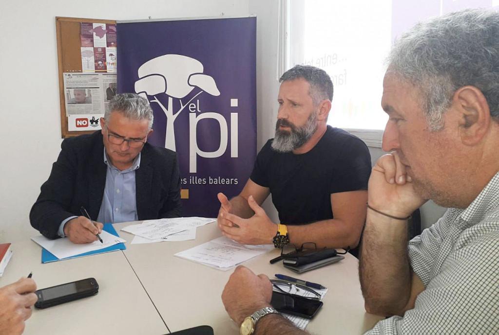 Jaume Font ha visitado Menorca este viernes