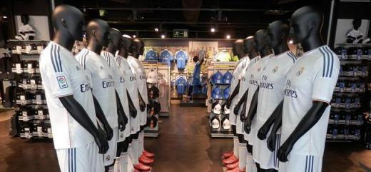 Tienda del Real Madrid.