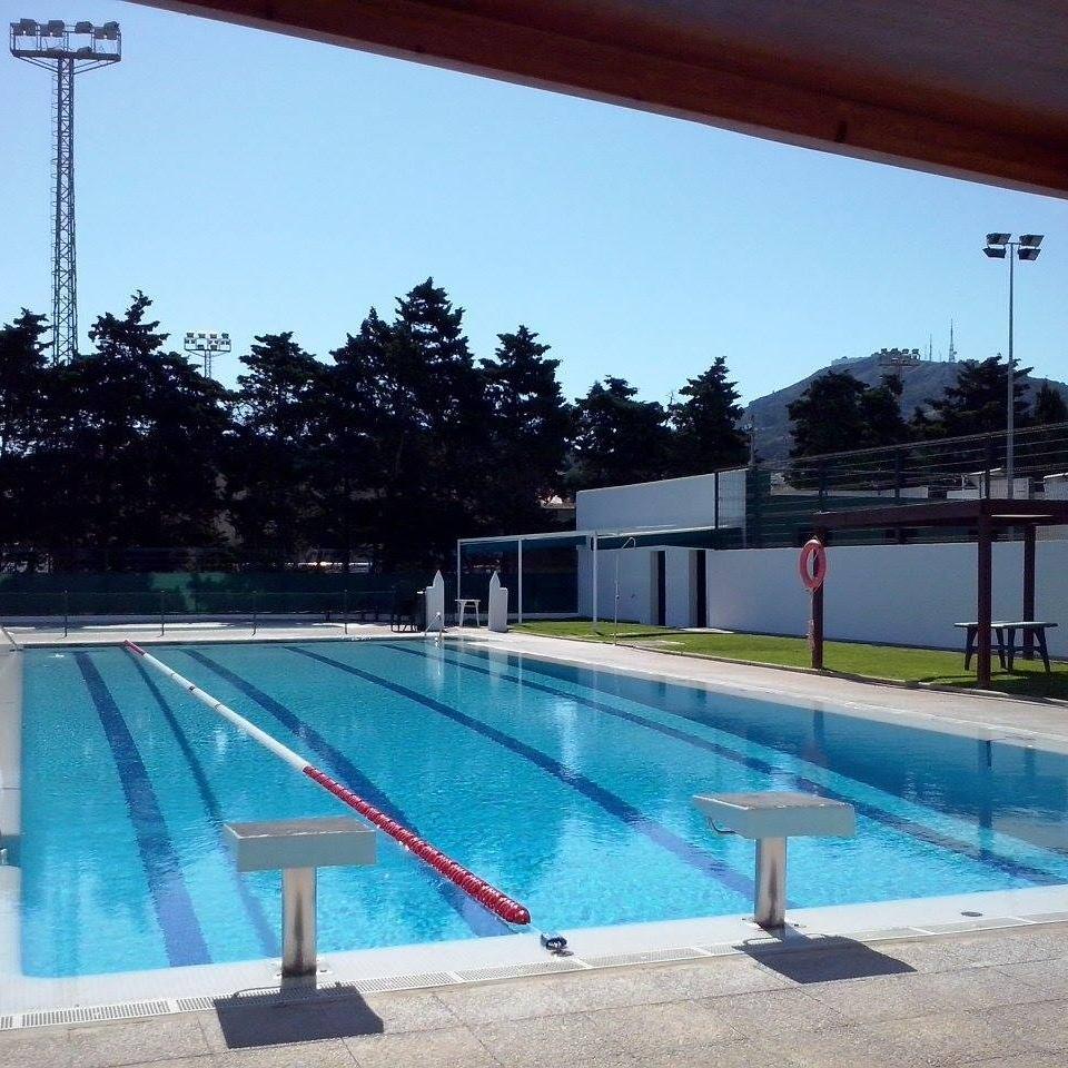 Entre otros proyectos está previsto cubrir la piscina municipal de Es Mercadal: Foto: Facebook Piscina Municipal de Es Mercadal