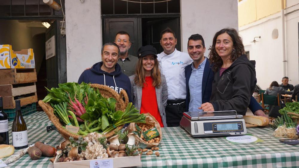 Imagen de la jornada gastronómica en Ciutadella a la que ha asistido Miquel Company.