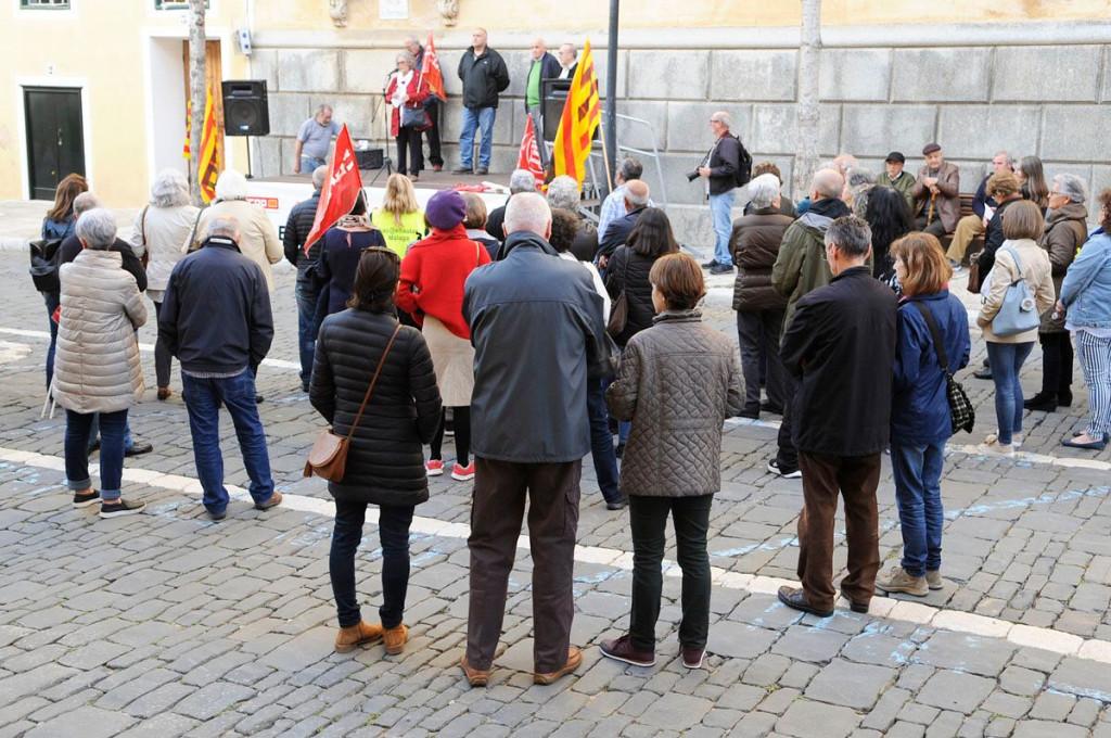 Imagen de la concentración (Foto: Tolo Mercadal)