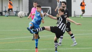 Acción del Alaior-Sporting de Mahón.