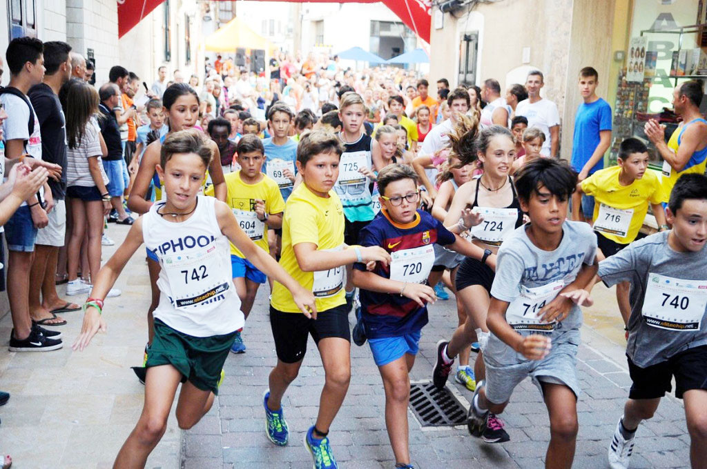 Carrera popular en Alaior.
