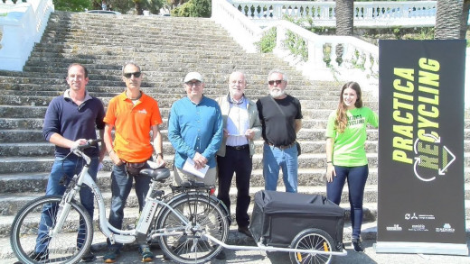 Momento de la presentación de la campaña (Foto: Ajuntament de Ferreries)