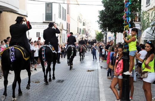 Festes de Gràcia en Maó (Foto: Tolo Mercadal)