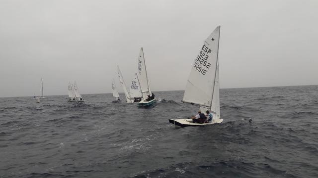 Imagen de una de las regatas.