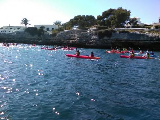 (Galería de fotos) Pasión por el mar en Ciutadella