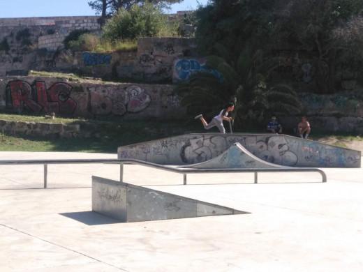 El Street day de Maó rinde culto al mundo del skate