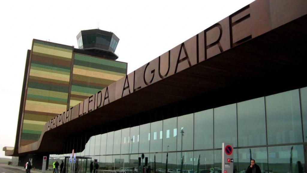 Imagen del aeropuerto de Lleida.