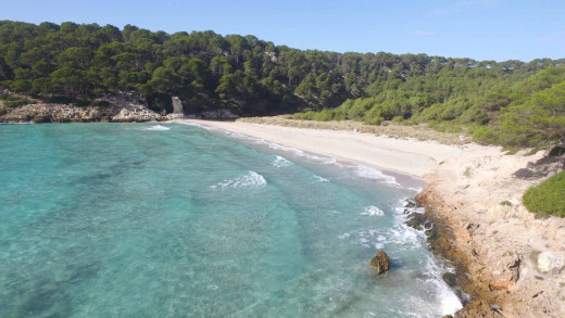 Imagen de Cala Trebalúger (Foto: Turisme de les Illes Balears)