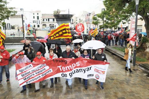 Imagen de la manifestación celebrada en 2018 (Foto: T.M.)