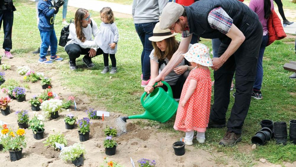 Imagen de las actividades que Maó+Flors realizó el año pasado