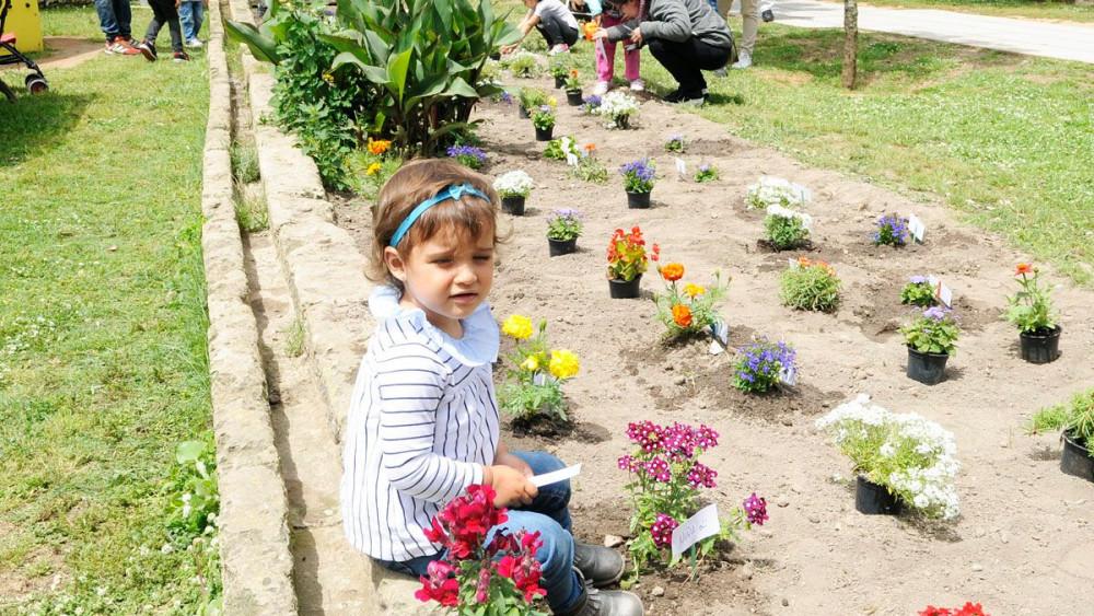 Imagen de una de las actividades que Maó+Flors realizó el año pasado (Foto: Tolo Mercadal)
