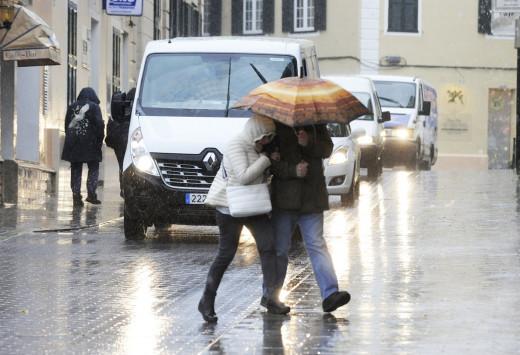 Se prevén lluvias de hasta 20 l/m2 en una hora