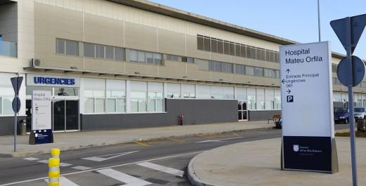 Hospital Mateu Orfila.