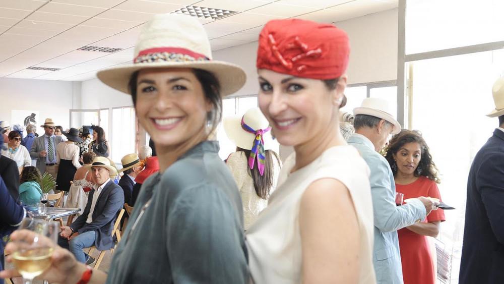 Nuria Roca y Ana Millán, en el evento (Fotos: Tolo Mercadal)