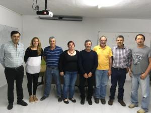 Foto de familia del encuentro.