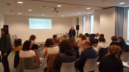 Imagen del encuentro en Es Mercadal.