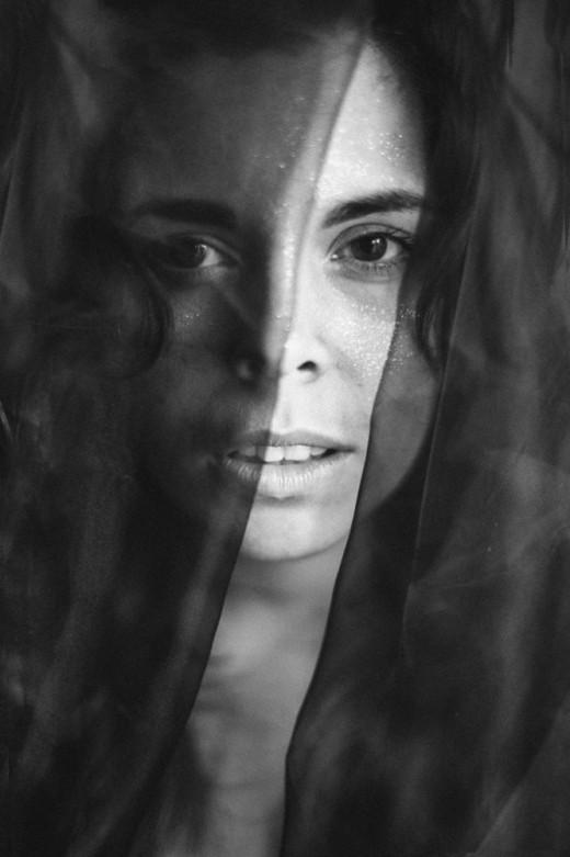 La cantante menorquina Anna Ferrer