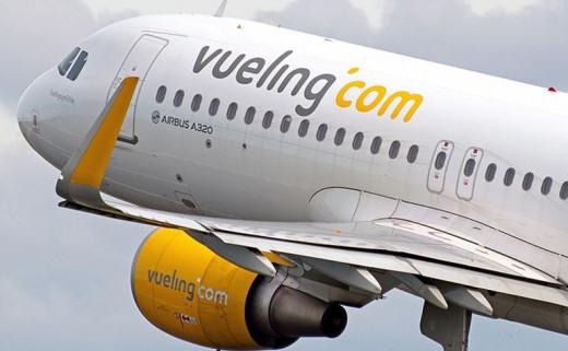 Avión de Vueling.