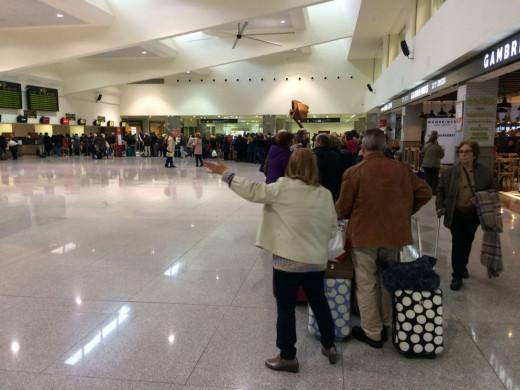 Los pasajeros con origen/destino nacional crecen un 13%  (Foto: Tolo Mercadal)