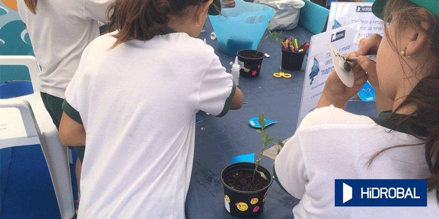 Niños en una de las actividades (Foto: GOB Menorca)