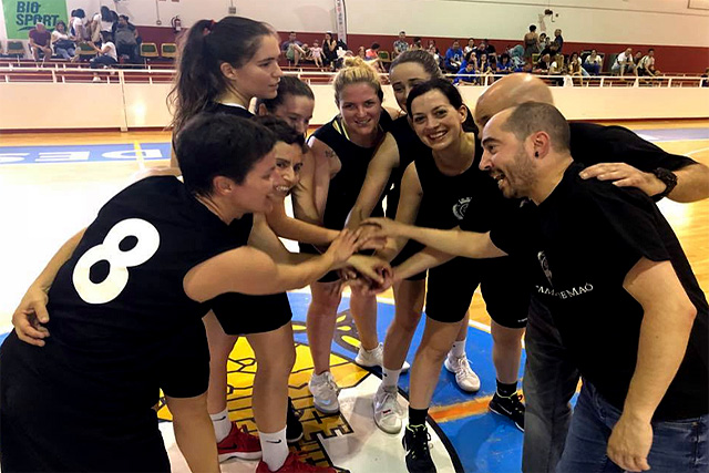 Equipo de baloncesto femenino de Maó.