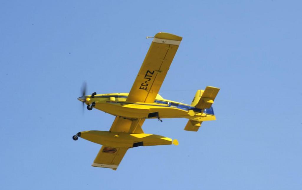 La aeronave ha sido vista por última vez en Pollença.