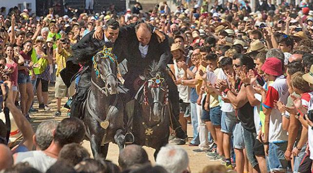 Momento de los Jocs des Pla (Foto: Tolo Mercadal)