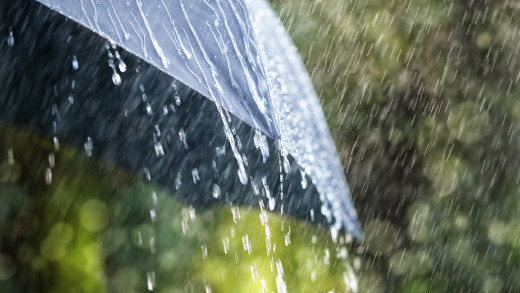 Se esperan fuertes precipitaciones este domingo.