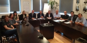 Imagen de la reunión mantenida en Palma.