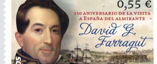 Imagen del sello conmemorativo que se presenta esta tarde en Madrid.