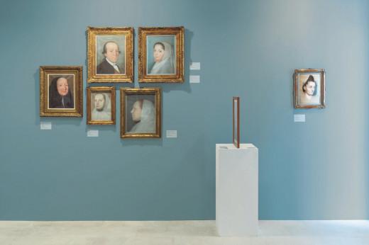 Imagen de la exposición que se hizo en el Museu de Menorca que ha sido premiada.