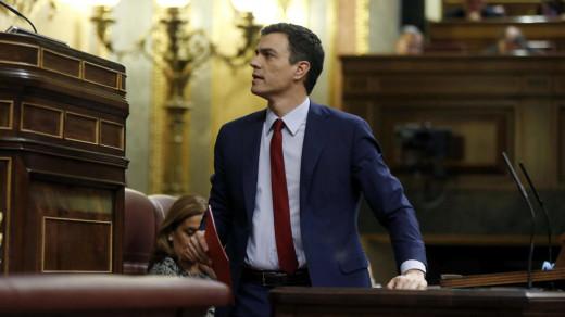 Pedro Sánchez es el nuevo presidente del Gobierno tras prosperar la moción de censura.