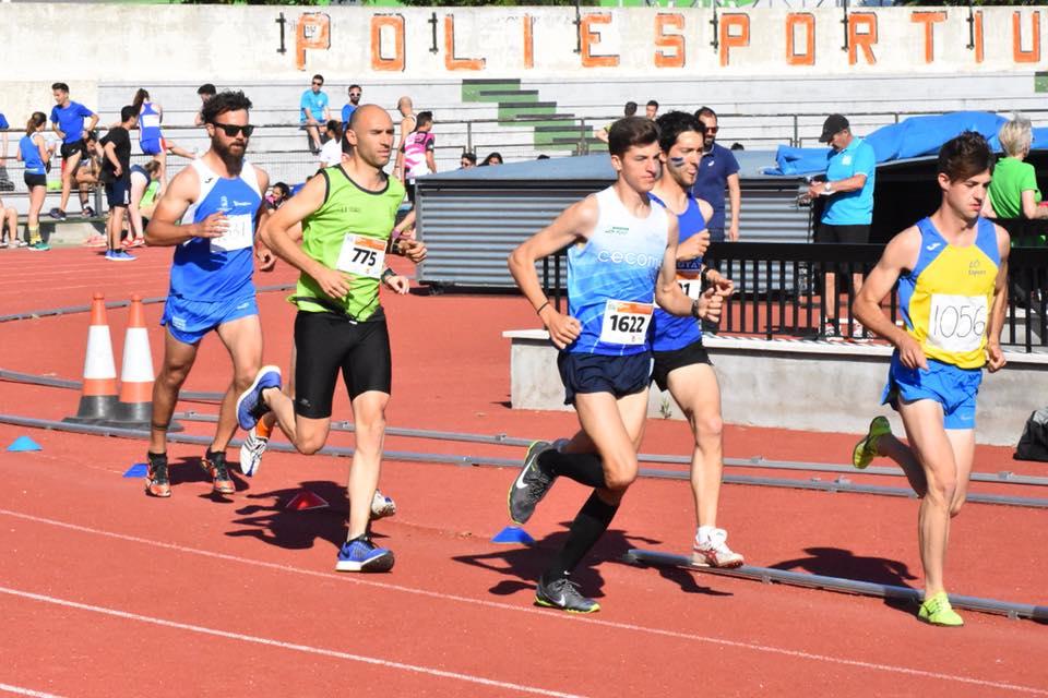 Xavi Torras y Sergi Reurer en carrera.