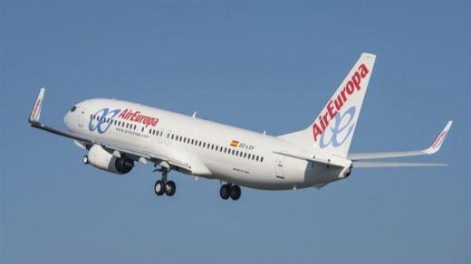 Air Europa no operará entre islas durante un mes