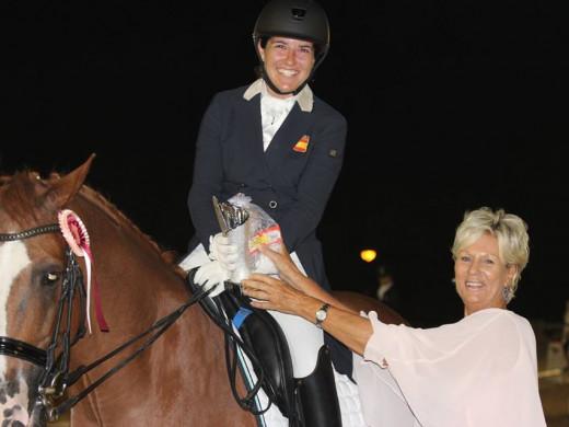 (Galería de fotos) Cristina Torrent, campeona de Balears de doma clásica