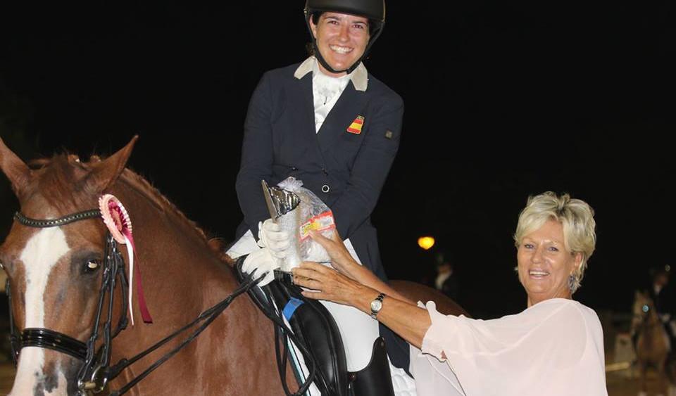Cristina Torrent, ganadora absoluta del campeonato (Fotos: Joan Serrano)