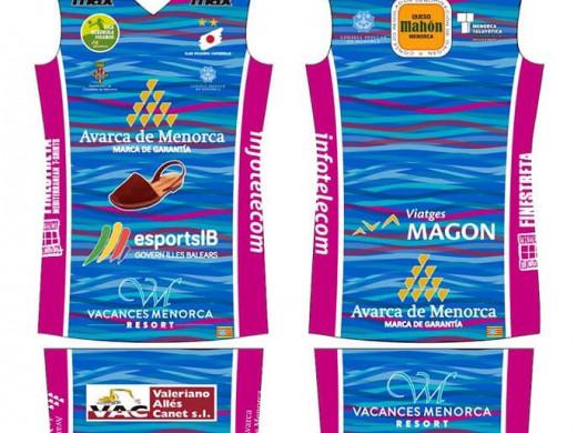 (Fotos) La equipación del Avarca de Menorca, un guiño al fondo marino