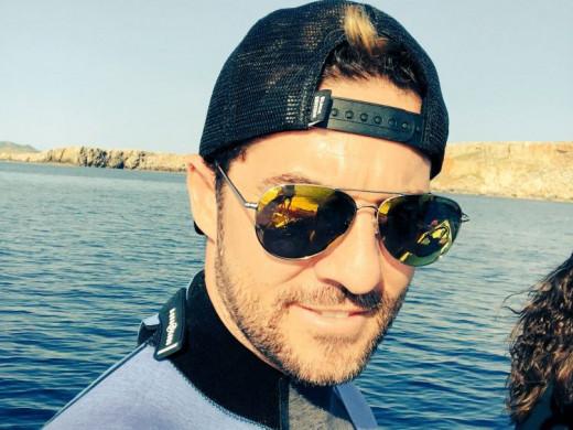 David Bisbal en Menorca