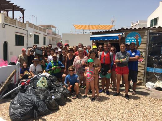 (Fotos) Menorca en Kayak aúna deporte y ecología
