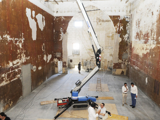 (Fotos) El arte  minimalista de Fred Sandback  inaugurará la Galería Cayón
