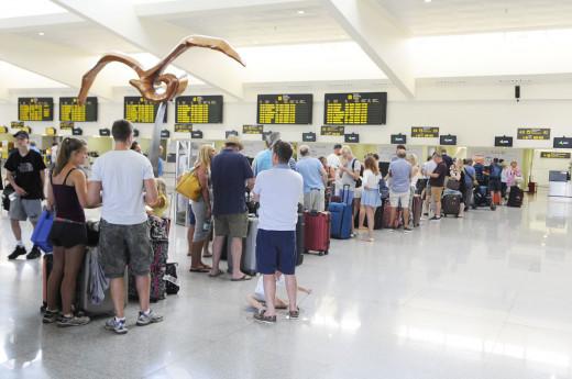 El sábado será el día con mayor movieinto en el aeropuerto de Menorca
