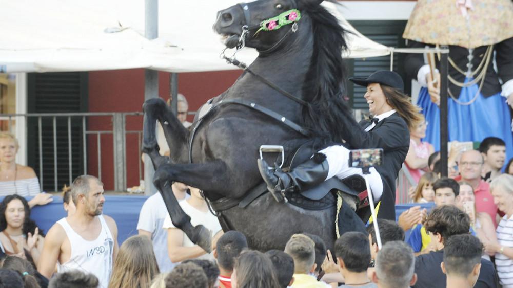 jaleo festen sant Jaume es castell