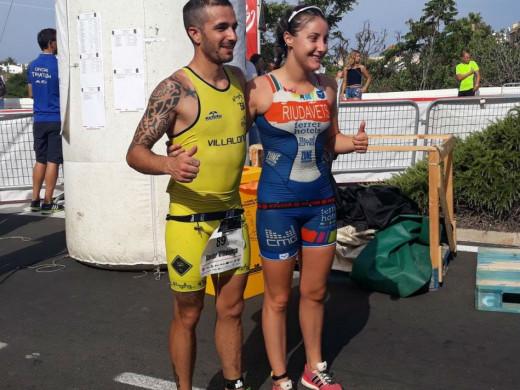 (Galería de fotos) Laia Riudavets y Xavi Villalonga se coronan en la Platja Gran