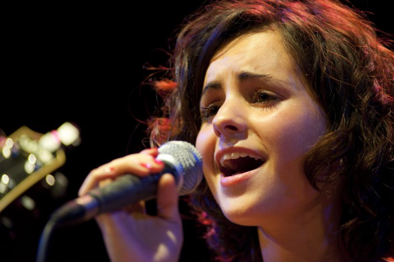 Andrea Motis, en un concierto.