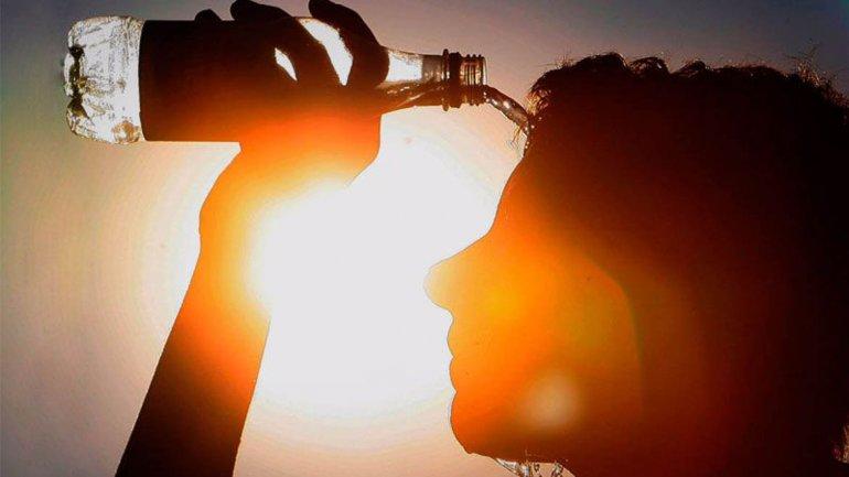 La alta humedad ambiental hará que la sensación térmica llegue a los 36 grados