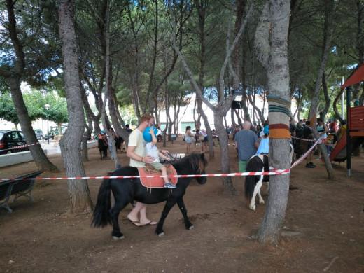(Fotos) Gran fiesta infantil en Sant Lluís