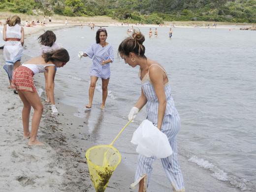 (Fotos) Jornada de limpieza